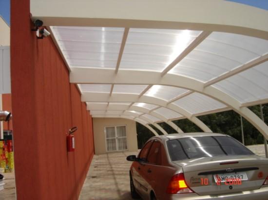 Cobertura com policarbonato Multi Painel ESTRELA DE PRATA 6 PONTA GROSSA-PR