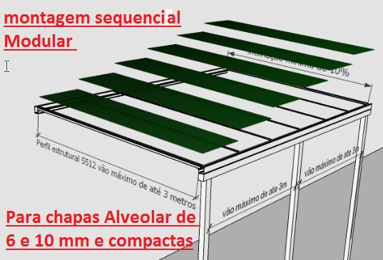 Perfil Viga-Calha PC 4412 e Perfil Estrutural PC 5512