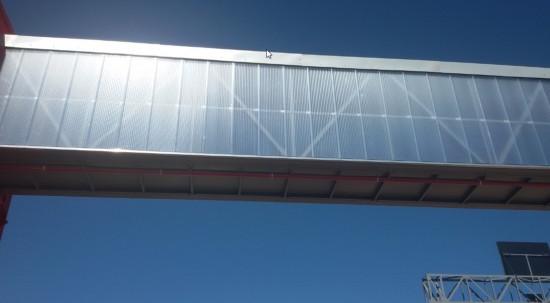 Paredes e fachadas em Policarbonato sistema Modular 40 mm, 50 mm, Ideal para Paredes e #Retrofit - Polysolution