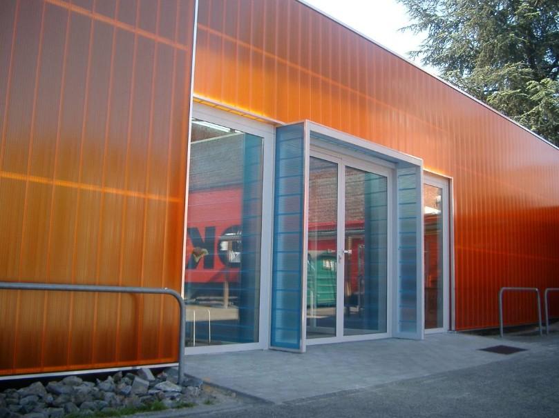 paredes e fachadas transl cidas em policarbonato