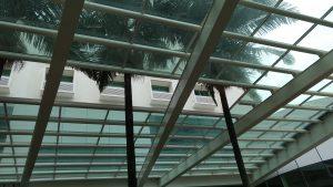 Perfil de aluminio Estrutural PC5550 para vidro e policarbonato Polysolution