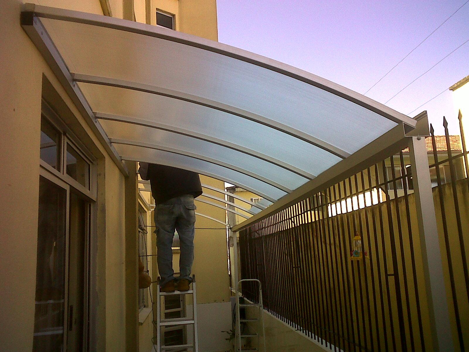 calhas e rufos de aluminio barras com 6 metros destinados
