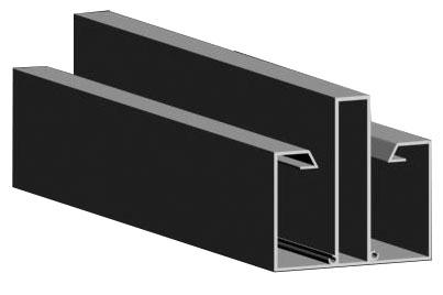 Perfil-União-Estrutural-Alumínio Polysolution
