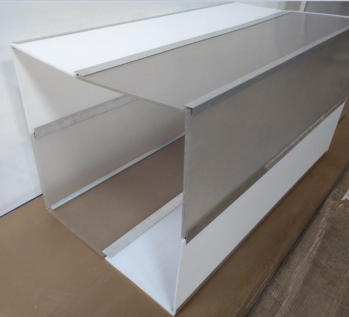 Perfil de aluminio formato h e u de canto espessura 6 mm - Perfil aluminio u ...