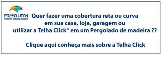 Conheça a Telha Click Polysolution