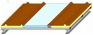 Telhas de Policarbonato Termopainel termoacustica Polysolution