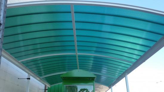 cobertura Carrinho Leroy Merlin CLICK verde translcuida -Polysolution I