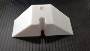 calço para telha de Policarbonato trapezoidal em Polipropileno - Polysolution