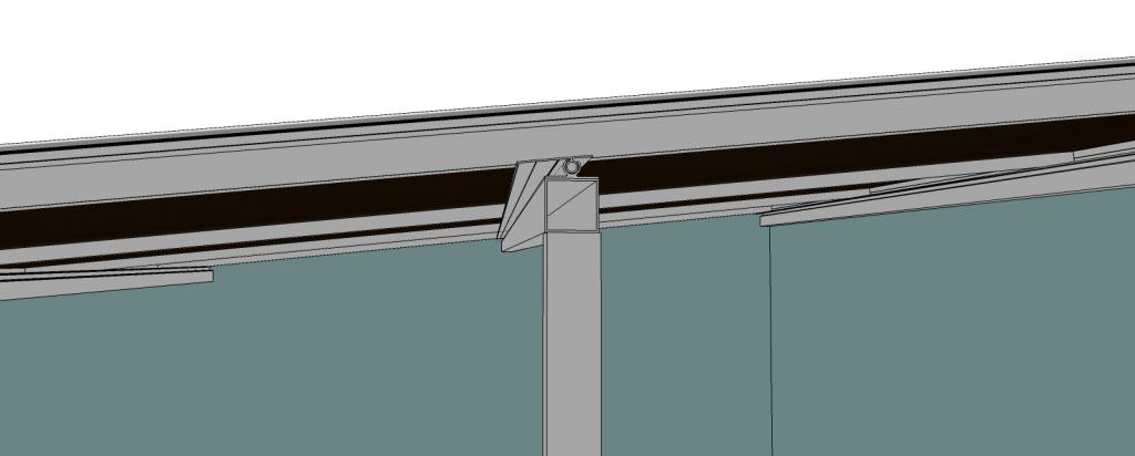 Perfil de aluminio base Regulavel PC5038 com 50 mm de base acompanha Pivô 70 mm - Polysolution