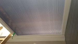 Chapa de Policarbonato alveolar Fumê refletivo bi-camera, 3 paredes 10 mm . É simples, faça você mesmo Policarbonato Alveolar -união de dois predios Viga-calha Polysolution