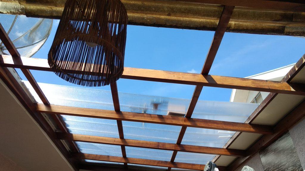 quero clarear o meu ambiente com as telhas de Policarbonato alveolar click Polysolution