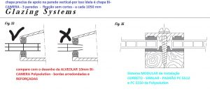 Dicas de como instalar uma cobertura de Policarbonato com Perfil estrutural PC5512 e perfil viga-calha PC4412