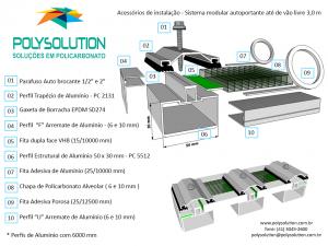 perfil de aluminio estrutural PC5512