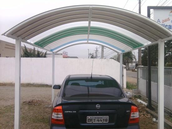 Garagem Curva Polysolution