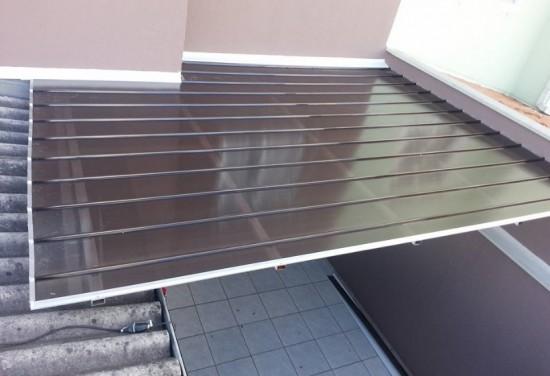 Dicas de como instalar um telhado com as Telhas de Policarbonato Click , acabamento, arremates, rufos, calhas, etc..