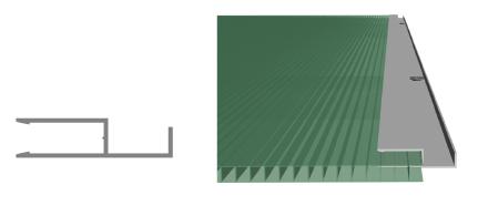 Perfil Arremate 6 mm e 10 mm aluminio - barras de aluminio - Polysolution