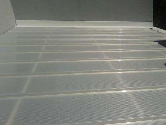 Cobertura Reta Click Pérola - Polysolution