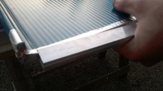 skylight instalando perfil U