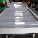 veneziana de policarbonato compacto branco leitoso vent-Poly - instalação - Polysolution 2