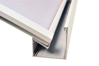 Comparação caracteristicas Perfil Viga-calha PC 4411 e Perfil viga-calha PC 4411 em Aluminio 3 e 4 polegadas - Polysolution