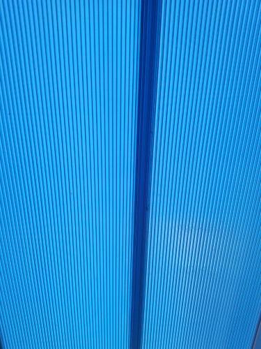 Cores das telhas de Policarbonato click Polysolution - azul
