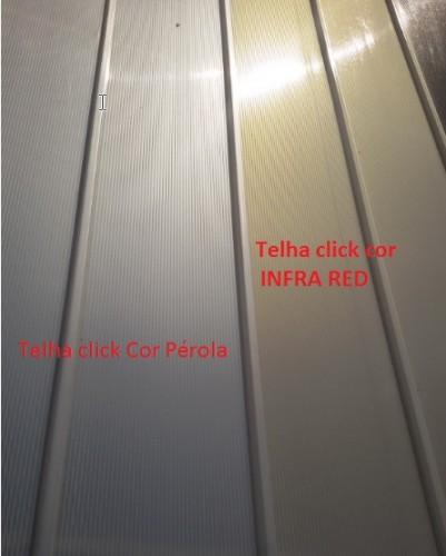 Telhas Click Infr red