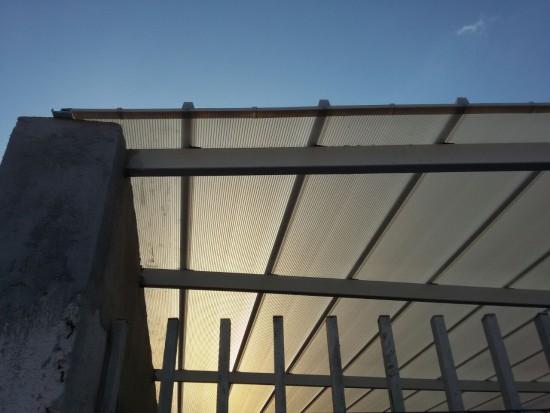 Telhas de Policarbonato Click 8 metros -Polysolution