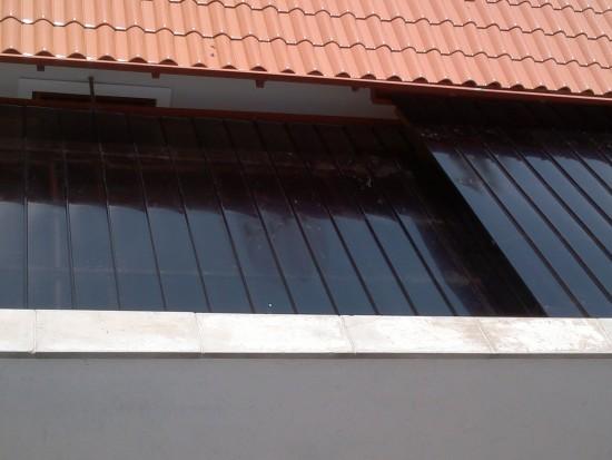 Como instalar uma Cobertura de Policarbonato em Pergolado de Madeira com as Telhas de Policarbonato Click