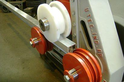 Calandra de POlicarbonato em Perfil de Aluminio Estrutural