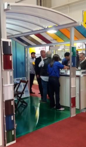 feira fesqua 2016 Polysolution Perfis de Aluminio Vidro e Policarbonato