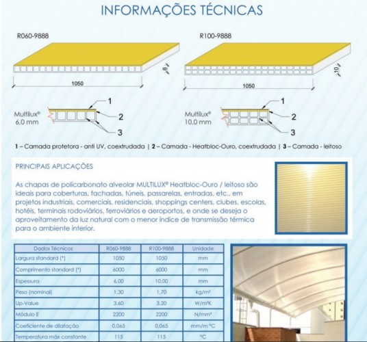 click Retratil infra red heat bloc ouro Polysolution