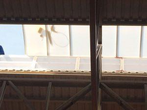Domo de iluminação Natural Domo Zenital em policarbonato Skylight em concreto MODULAR Polysolution