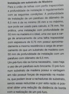 Parafuso auto brocante para fixação de telhas Fabricante Ejot e distribuidor Polysolution