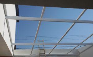 perfil estrutural de aluminio PC 4412 e PC-5512 com 3 metros Polysolution