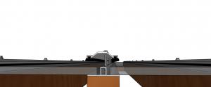 Pergolado de madeira e caramanchão com Policarbonato alveolar 10 mm e Peerfil de Aluminio Base T Polysolution