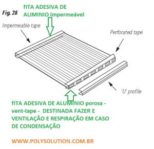 Claraboia de Policarbonato Infra Red 10mm - Polysolution