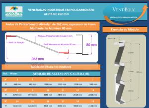 Veneziana industrial Vent-POly