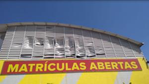 Veneziana Industrial Vent poly em Policarbonato - Ginásio Escola POlysolution