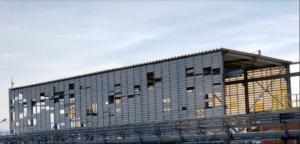 Veneziana Industrial Vent poly em Policarbonato POlysolution interna