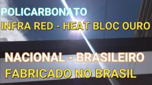 Pegolado de Madeira coberto com Policarbonato Alveolar Branco Leitoso Infra Red