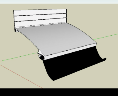 Novo Rufo de aluminio com gaxeta EPDM - Polysolution