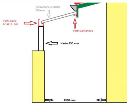 DIY - faça voce mesmo a sua cobertura de Policarbonato alveolar 10 mm com perfil de aluminio Polysolution