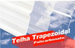 Telha Trapezoidal 40 mm em Policarbonato Polysolution