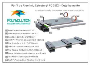 modelo esquemático Coberta PC5512 - 3D